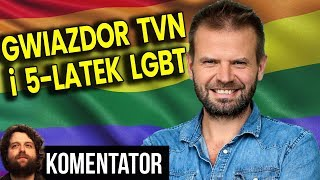 Gwiazda TVN i 5-latek LGBT - Czego Rafał Betlejewski Nie Powiedział w Filmie - Analiza Komentator PL