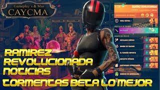 Ramirez Revolutionized News Beta Missions Fortnite Save the World ? CaycMa