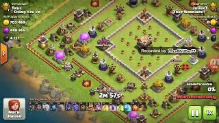 rh10 vs rh11 - Clash of Clans