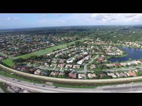 Phantom 3 Flying over West Davie, FL