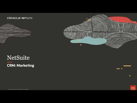 NetSuite CRM: Marketing