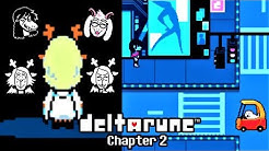 UNDERTALE TOBY FOX teases DELTARUNE CHAPTER 2!!
