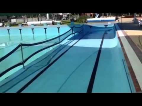 Public Swimming Pool filling a public swimming pool - youtube