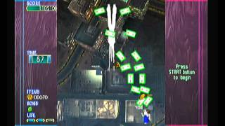 PS2: Mobile Light Force 2 Gameplay (stage 1-1)