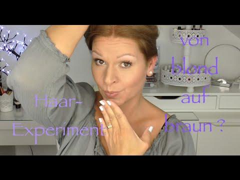 Haare Färben Mit Wella Koleston Blondbraun Das Experiment Deutsch