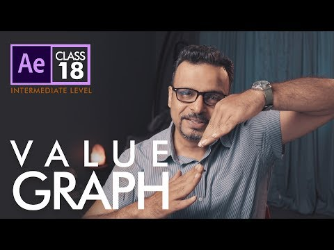 Value Graph in Adobe After Effects - اردو / हिंदी