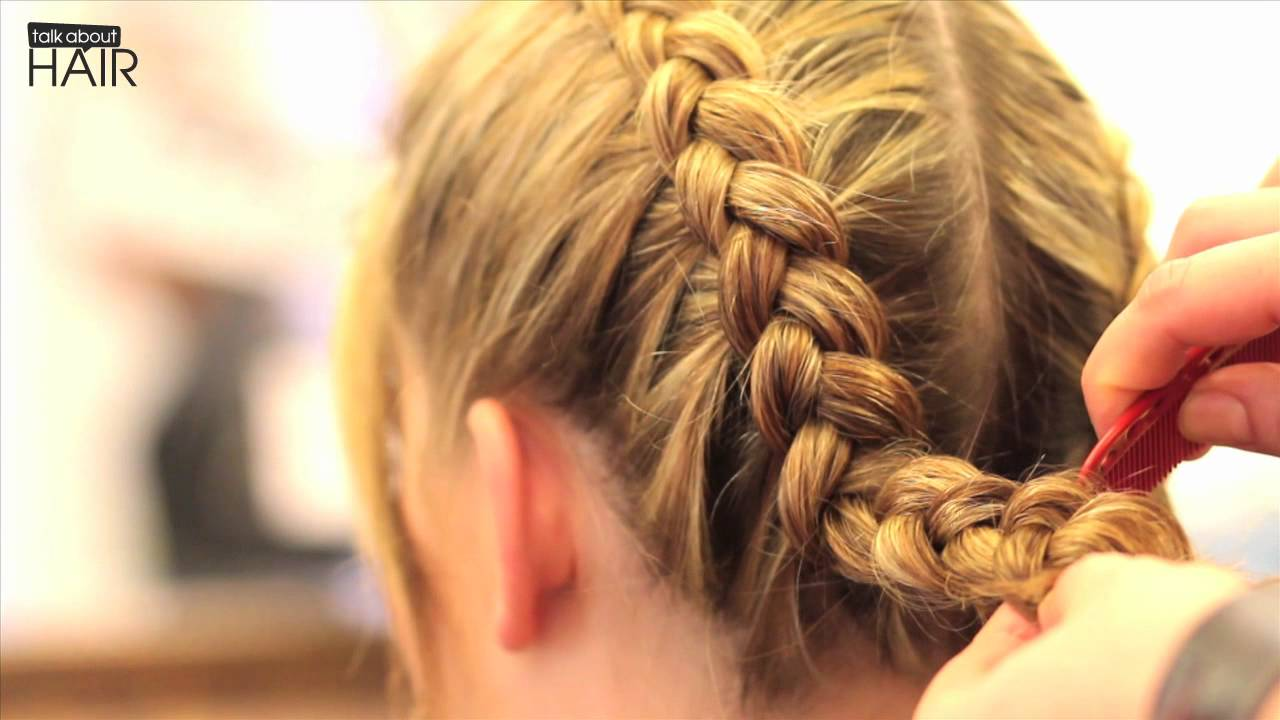 Oktoberfest frisuren tutorial