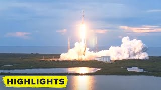 SpaceX SAOCOM 1B Launches! + (Falcon 9 On-Shore Landing)