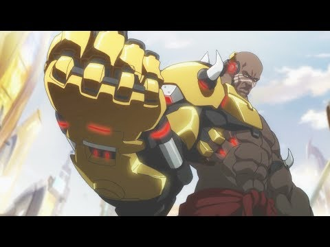 Overwatch All Cutscenes Movie With DOOMFIST / All Cinematic Story Trailer