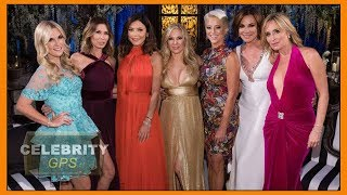 The Real Housewives of NY stuck on boat from hell - Hollywood TV