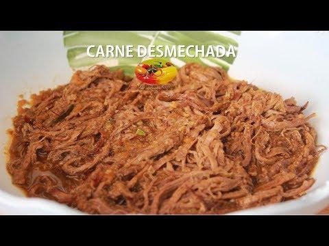 CARNE DESMECHADA