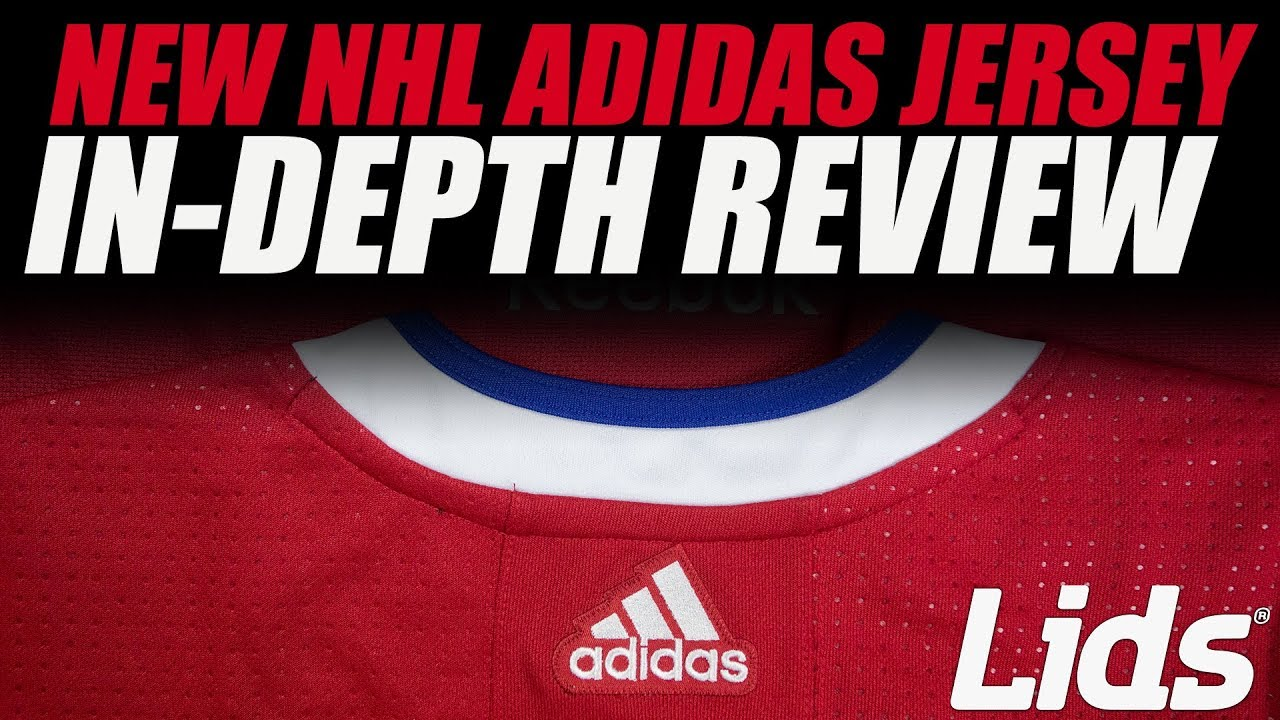 NEW NHL Adidas Jersey vs NHL Reebok Jersey - In-Depth Review - YouTube f977d39ee03
