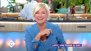 Lapix : une femme au 20h !  - C à vous - 04/09/2017