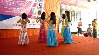 Children Belly Dance (yoga72style studio)