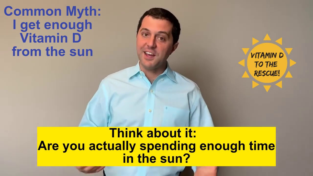 Mythbuster! Do you get enough Vitamin D from the sun?