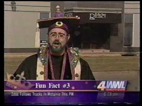 Professor Carl Nivale - Mardi Gras Fun Fact 3