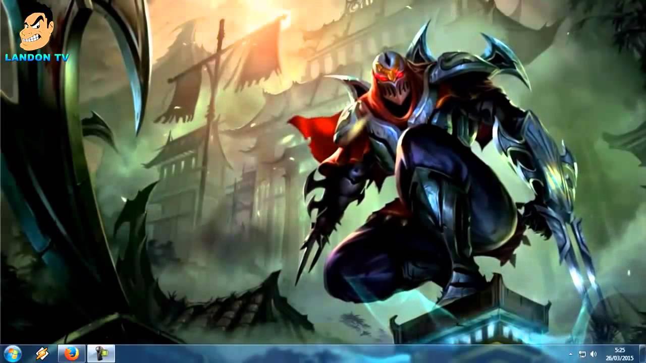 Fondos De Pantalla Animada: Fondo De Escritorio Animado (Zed- League Of Legends)