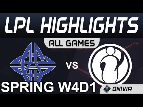 ES Vs IG Highlights ALL GAMES LPL Spring 2020 W4D1 EStar Vs Invictus Gaming By Onivia