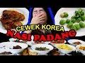 Cewek Korea Pertamakali Coba Nasi Padang!