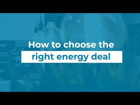 How To Get The Best Energy Deal