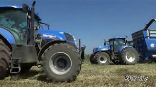 TRITICALE SILAGE - NEW HOLLAND FR9090 & 9060 CASE IH Magnum 335 CLAAS Xerion 3800 CROSETTO FLIEGL