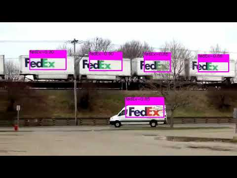 The first Real-Time FedEx/UPS/USPS detection system with YOLO