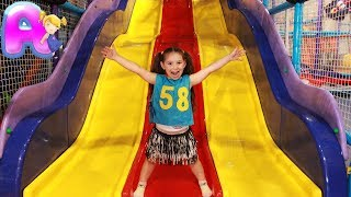 Indoor Playground for kids with Anna