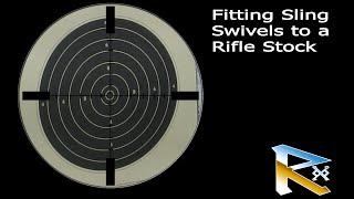 fitting sling swivels to a rifle stock bsa lightning air rifle spring gun
