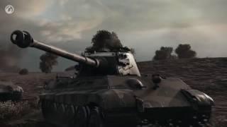 Танки Т34 и ИС2 против 'Королевских тигров'