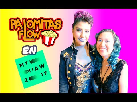 PALOMITAS FLOW EN LOS PREMIOS MTV MIAW 2017 | Palomitas Flow Vlogs