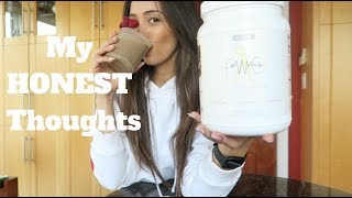 Fit with Cambrie PROTEIN POWDER  | FIRST IMPRESSIONS & REVIEW