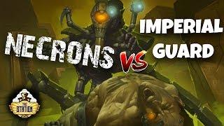 Играем: Astra Militarum VS Necron 2000 pts Warhammer 40000