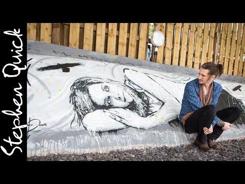 MASSIVE MURAL! | Street Art by Stephen Quick // Bristol