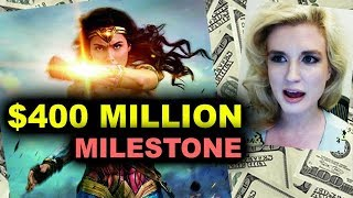 Wonder Woman Box Office hits $400 MILLION Domestic!