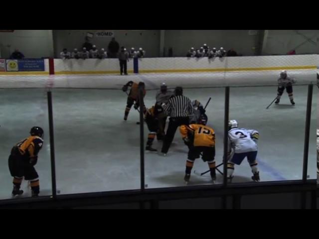 Acton Boxborough Varsity Boys hockey vs Andover 1/29/14