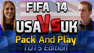 FIFA 14   UK VS USA PACK AND PLAY 'LIGA BBVA TOTS'