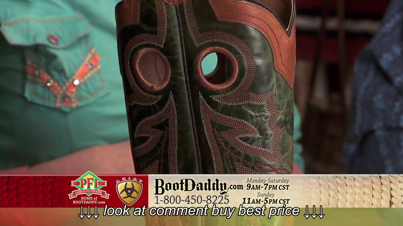 2023ad93bdd Review of Ariat Men's Wildstock Wide Square Toe Brown Cowboy Boots 10011802