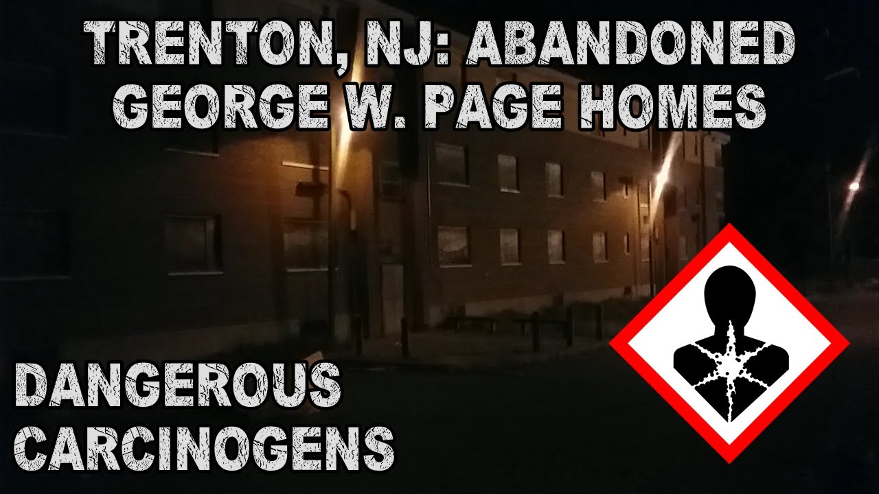 Urban Relics: Trenton's George W. Page Homes (DEMOLISHED)