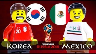 LEGO World Cup 2018 KOREA Vs MEXICO