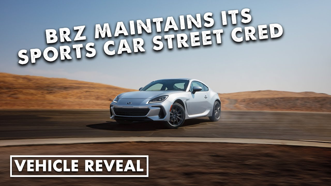 Download Global reveal of the 2022 Subaru BRZ