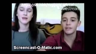 Актеры сериала Виолетта говорят на русском