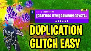 "Fortnite: ""DUPLICATION"" Glitch! EASY Fortnite SAVE THE WORLD Duplication Glitch (PS4/XBOX ONE 2018)"