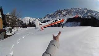 ラジコン飛行機 6軸ジャイロで初めてでも安心!! XK DHC-2 A600 初フライト