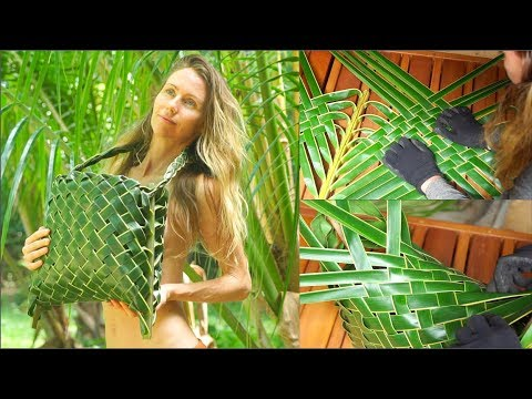 Step by Step How To Weave a Palm Leaf Designer Bag (that lasts years)