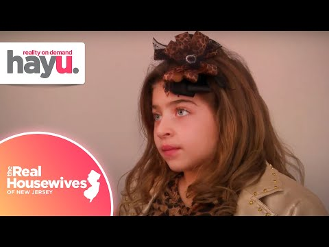 Gia's New Jersey Accent Concerns Teresa | Season 2 | Real Housewives Of New Jersey