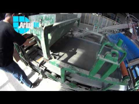 Линия для производства минерально-цементных панелей (Mineral cement board).