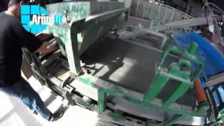 Линия для производства минерально-цементных панелей (Mineral cement board).(Фасадные минерально-цементные панели состоят из цемента, минеральных наполнителей: песка , перлита и ..., 2015-04-18T12:52:05.000Z)