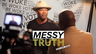 Jamie Foxx talks being black in Trump's America | The Messy Truth w/ Van Jones
