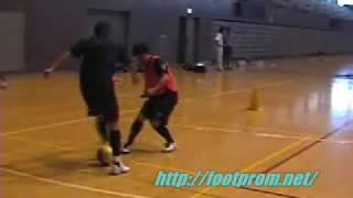 1on1フットボールフットプロム・シニーニャ編 thumbnail