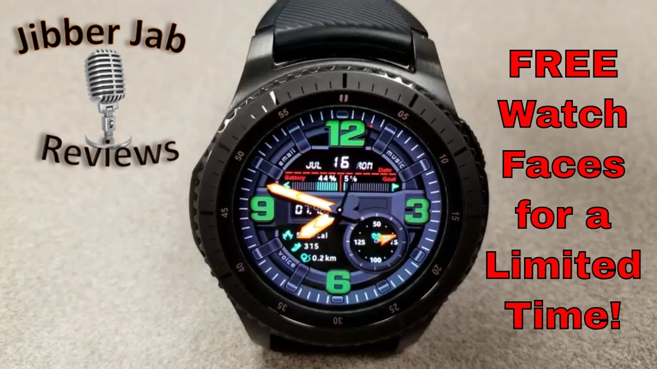 Samsung Gear S3/Gear Sport Watch Faces for FREE in Galaxy App Store! For a  Limited Time Only, Hurry!